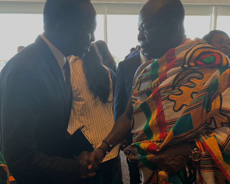 Network Meets with King of Ghana at UN Working Lunch