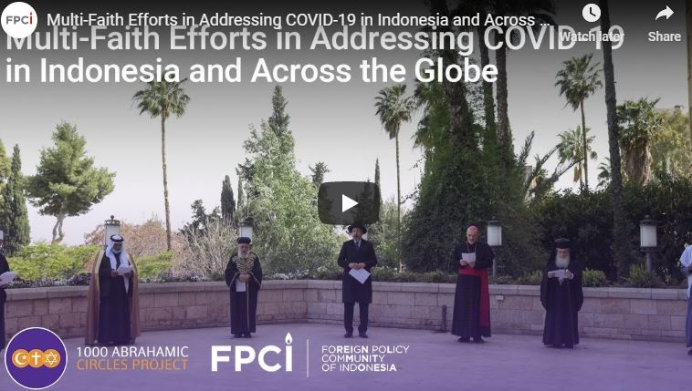 Panel: Multi-Faith Efforts in Addressing COVID-19 in Indonesia and Across the Globe