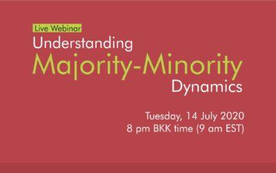 [Event] Webinar: Understanding Majority and Minority Dynamics