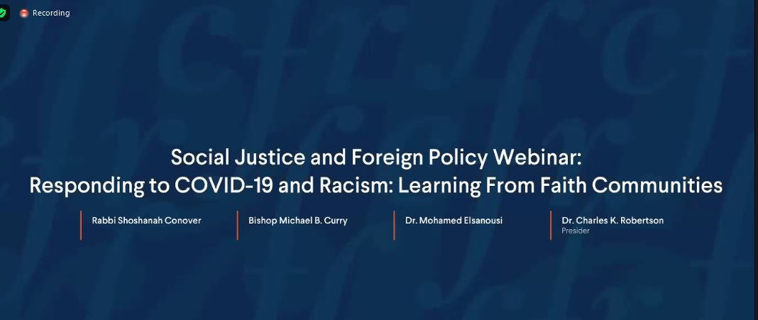 Council on Foreign Relations Webinar: Responding to COVID-19 and Racism