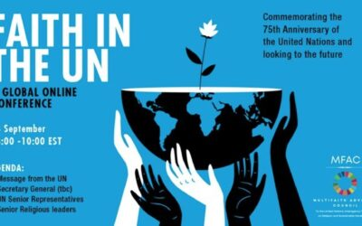 Multi-faith Advisory Council Hosts Global Conference on 75th Anniversary of the United Nations
