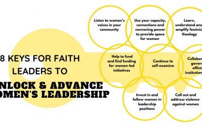 8 Keys for Faith Leaders to Unlock and Advance Women's Leadership