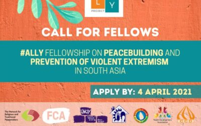[Deadline Extended] ALLY Fellowship on Peacebuilding and Preventing Violent Extremism