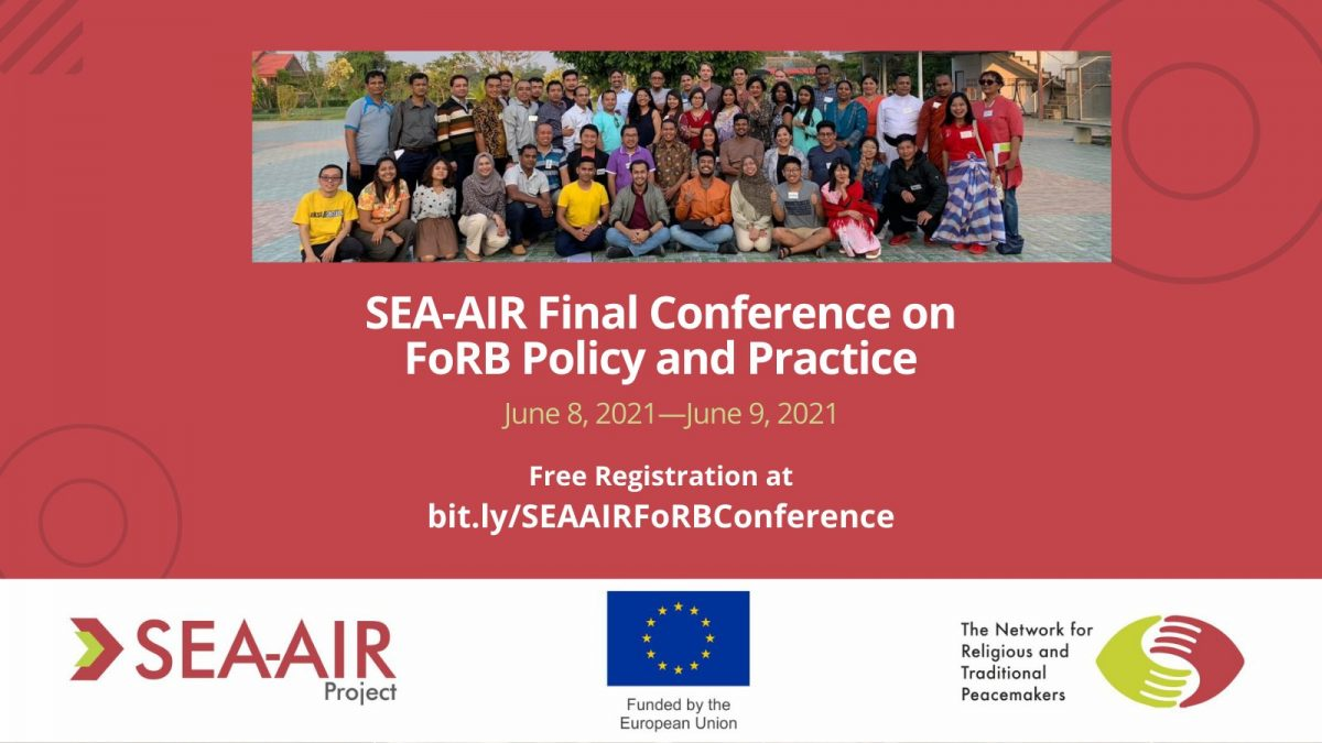SEA-AIR Final Conference Flyer